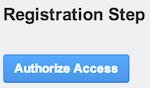OAuth Client Portlet shows to user authorize button