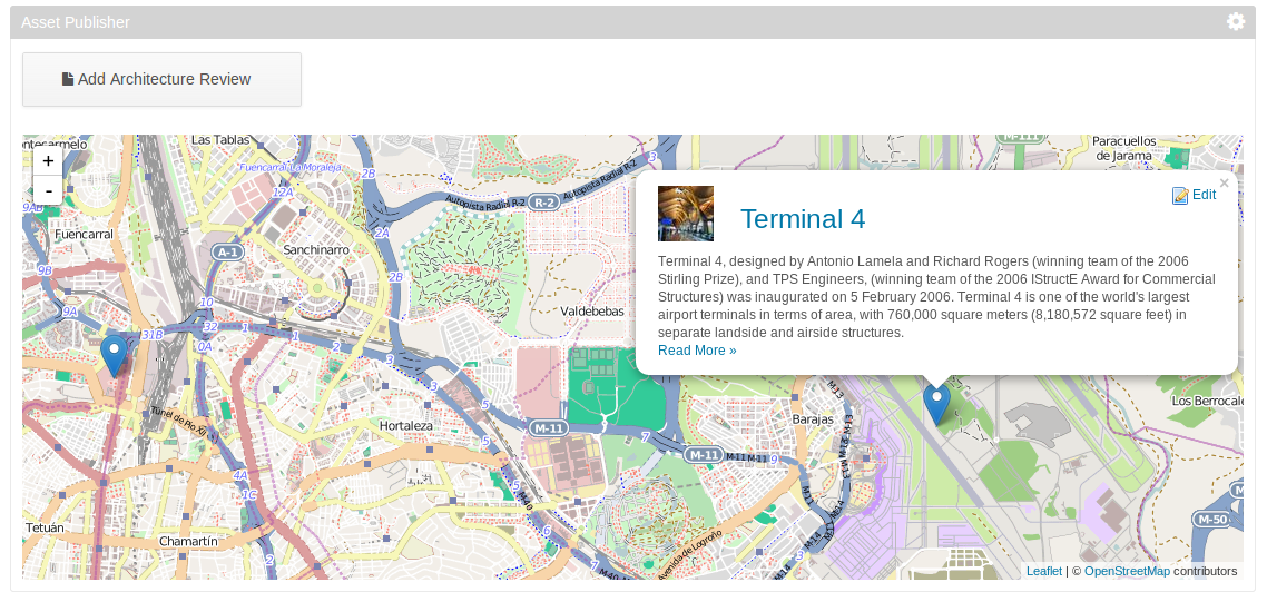 Content on a Map with Application Display Templates and OpenStreetMap