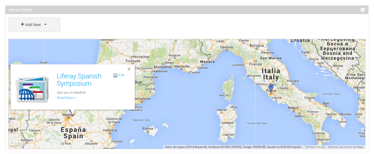 Displaying geolocated assets in a Map with Asset Publisher