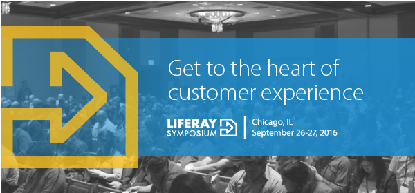 Get to the heart of Customer Experience at Liferay Symposium North America